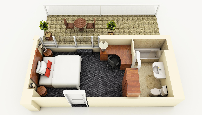 Penthouse Executive Terrace Room floorplan